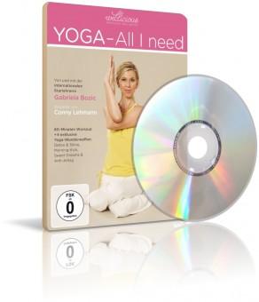Yoga - All i need von Wellicious (DVD)