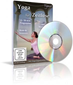 Yoga für Zeitlose mit Inga Stendel (DVD)