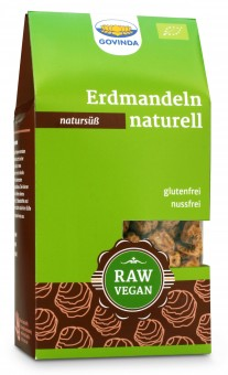 Bio Erdmandeln naturell, 250 g
