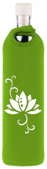 Flaska Trinkflasche NEO DESIGN 0,75 l grün - Lotus