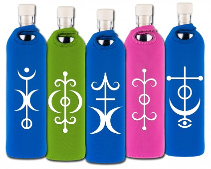 Flaska Trinkflasche SPIRITUAL Neopren - 0,75 l