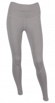 Function-Leggings - grey melange