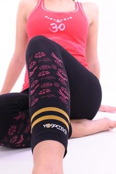 Hatha-Yoga-Capri - black XS/S