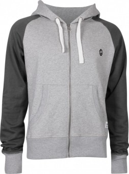 Hooded Jacket, grey-melange S