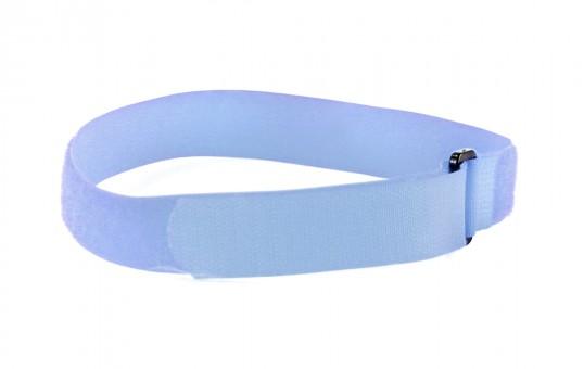 hook & loop light blue