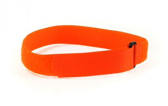 hook & loop orange red