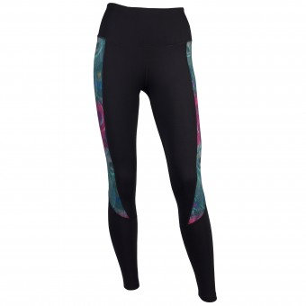 Function Leggings Peacock, black-wine