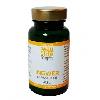 Ingwer-Pastillen (konv. Anbau), 41,1 g