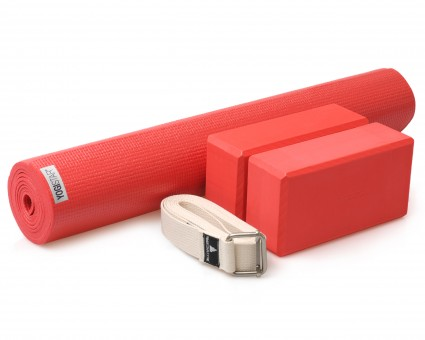 Yoga-Set kick it - two (Yogamatte + 2x Yogablock + Yogagurt)