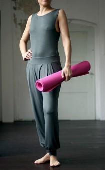 """Yoga-Jumpsuit """"Kumari"""", dark olive"""