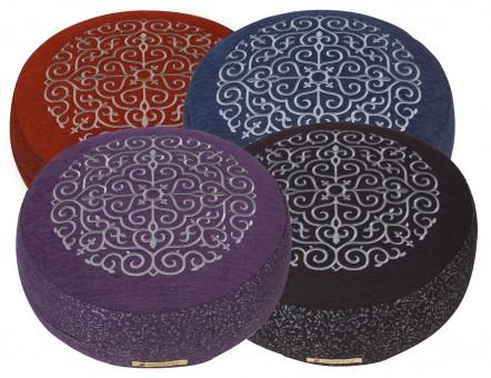 Meditation cushion 'Kabir', round