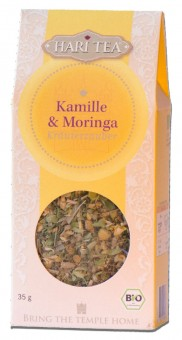 Bio Kamille & Moringa lose Teemischung, 35 g