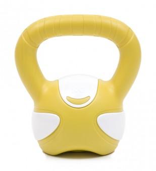 Kettlebell yellow/white 5kg