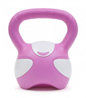Kettlebell pink/white 3kg