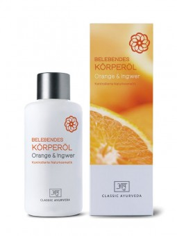 Belebendes Körperöl - Orange & Ingwer, 100ml
