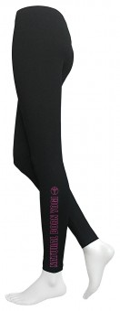 "Yoga-Legging ""Natural Born Yogi"", schwarz"