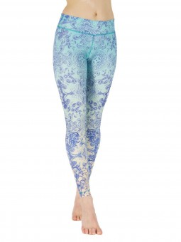 "Yoga-Leggings ""Bahama Breeze"""