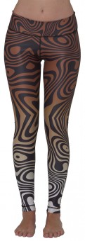 "Leggings ""Liquid Marble Nature"""