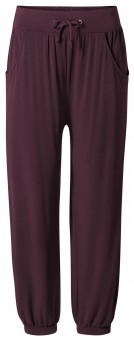 Long Pants, relaxed - kastanie