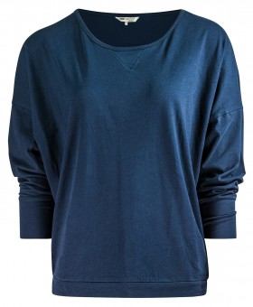 "Yoga-Shirt ""Batwing"" - navy S"