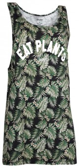 "Tank-Top long ""Hawaii"" unisex - grün"