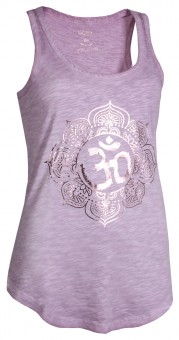 "Tank-Top ""Pigment dyed OM"" - flieder XS"
