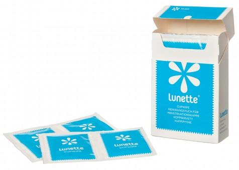 CupWipe Reinigungstücher für Lunette, 10 St.