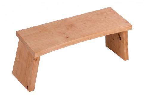 Meditation stool - alderwood classic