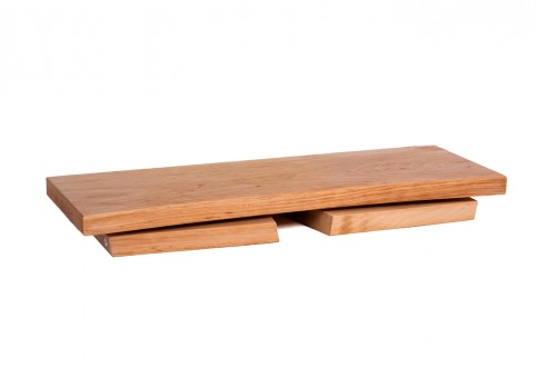 Meditation stool - alderwood classic folding