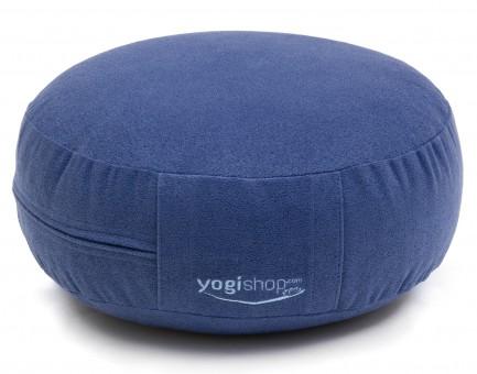 Meditationskissen BASICS, rund blau