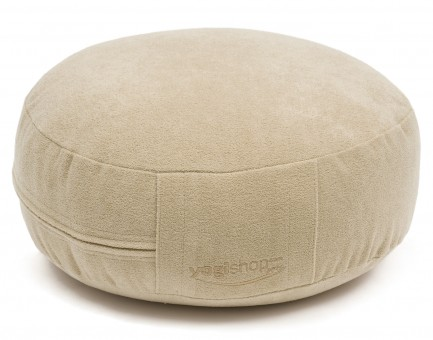 Meditation cushion 'BASICS', round natural