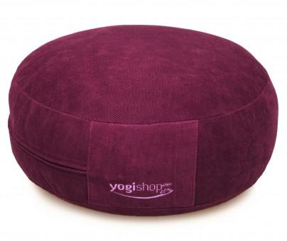 Meditationskissen BASICS, rund violett