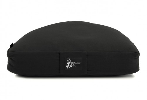 Meditation cushion - half moon black