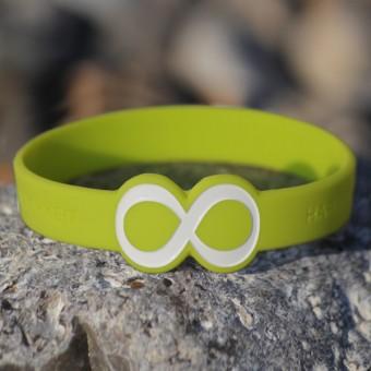 "Mindlet-Armband ""Unendlichkeit"", grün"