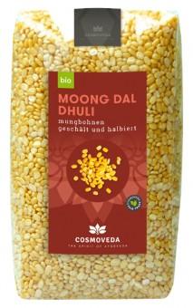 Bio Mungbohnen gelb (Mung-Dal), 500 g