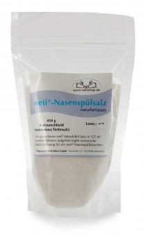 neti® Nasenspülsalz, Nachfüllbeutel, naturbelassen,  450 g