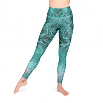 Yoga-Leggings - Enchanted Forest - High Waist