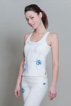 OM Shanti-Top - white
