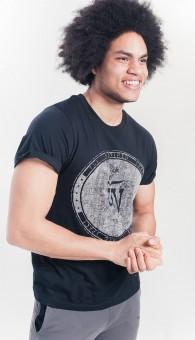 Organic Crew inspired T-Shirt - black
