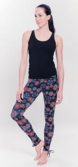 Organic Mandala Leggings - black/print L