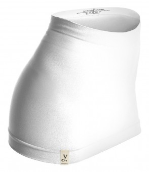 Nierenwärmer organic-tube - white