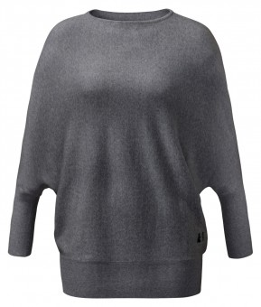 Oversize Pullover - anthrazit melange S