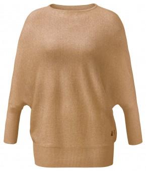 Oversize Pullover - camel melange
