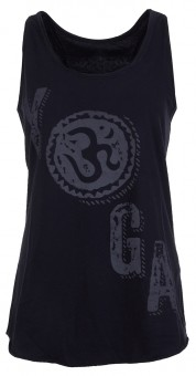 "Yoga-Top ""Paloma"" - charcoal M"