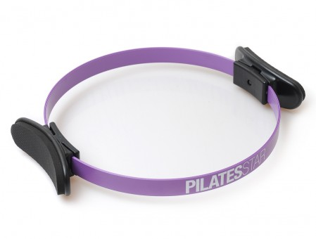 Pilates Ring - Metall 30 cm violet
