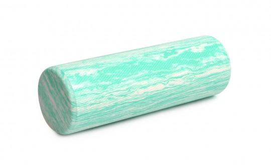 Faszienrolle / Pilatesrolle pro premium plus - 45cm/90cm green marble (45 cm)
