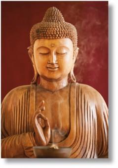 Briefkarte - Buddha