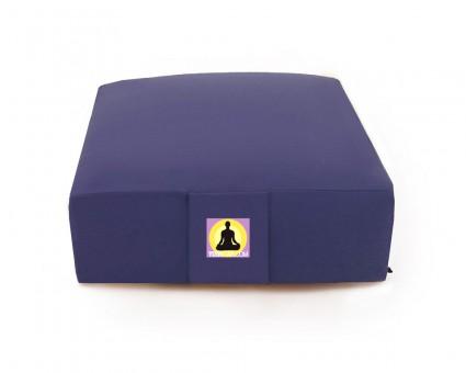 2. Wahl Meditationskissen - Quadrat - blau