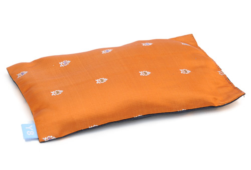 """Augenkissen """"Rest your eyes"""" orange"""
