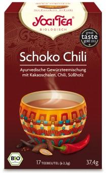 Bio Schoko Chili Teemischung, 30,6 g